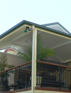 Timber Steel Framed Deck Brisbane